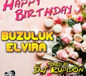 Обложка к альбому HAPPY BIRTHDAY Buzuluk Elvira (2019) by DJ Kupidon