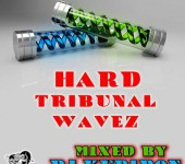 Кавер муз. альбома Hard TRIBUNAL WaveZ (2020) by DJ Kupidon